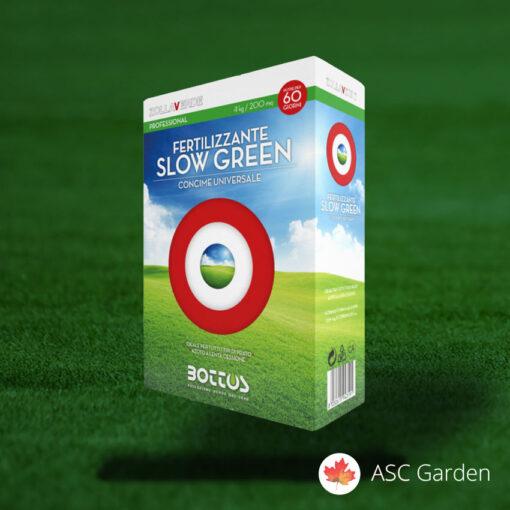 SLOW GREEN univerzalno djubrivo 4 kg